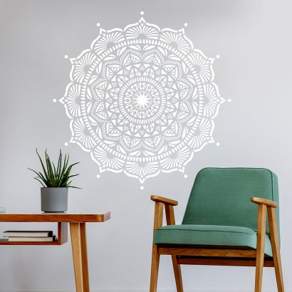 Wall art stencils : Large stencils, reusable stencils for walls