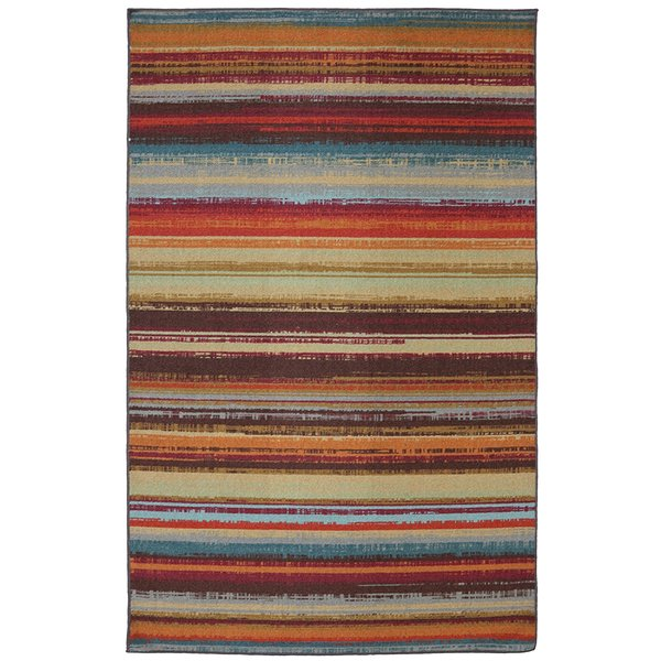 Striped Rug Adds to Your Home a Serene   Beauty