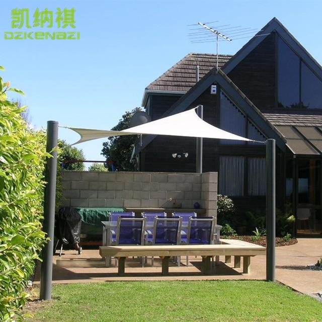 3 x 6 M/pcs Customized Rectangle Sun Shade Sail Combination Outdoor