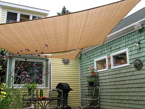 Amazon.com : Shade&Beyond 8' x 10' Sun Shade Sail Canopy Rectangle