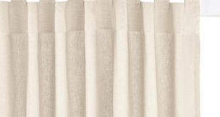 Cotton tab top single curtain La Redoute Interieurs | La Redoute
