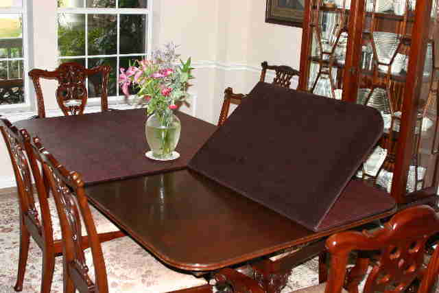 Table Pads by Dressler|Custom Made Table Protector Pads|Table Covers