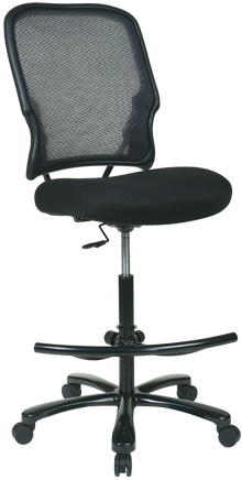 Office Star Big and Tall Mesh Drafting Chair 15-37A720D