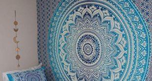 Amazon.com: Hippie Mandala Tapestry, Hippie Tapestries, Mandala wall