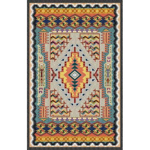 Pure Country Weavers Southwest Turquoise Tapestry Wall Hanging 2933