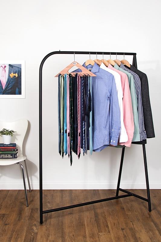 Brown Cedar Triangle Cedar Tie Hanger Tie Rack | Ties.com