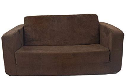 Amazon.com: Fun Furnishings 55247 Toddler Flip Sofa in Micro Suede