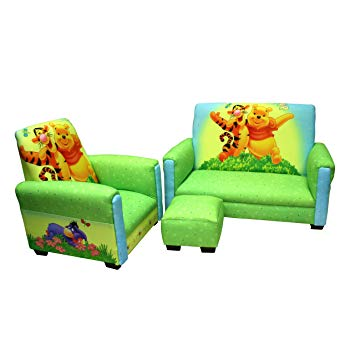Amazon.com: Disney Deluxe Toddler Sofa, Chair and Ottoman Set