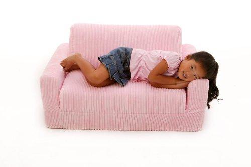 Amazon.com: Fun Furnishings Sofa Sleeper, Pink Chenille: Kitchen
