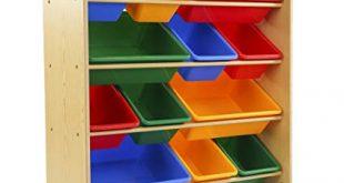 Amazon.com: Tot Tutors Kids' Toy Storage Organizer with 12 Plastic