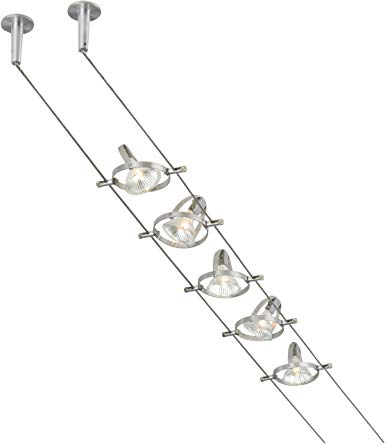 Tiella 800CBL5PN, Accent Electronic Low Volt Surface Track Lighting