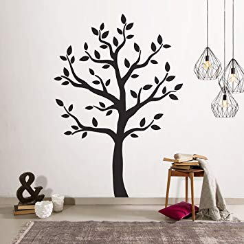 Amazon.com: Timber Artbox Large Black Tree Wall Decal - The Easy to