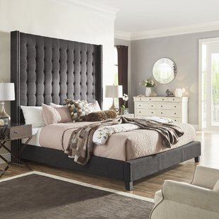 King Button Tufted Bed | Wayfair