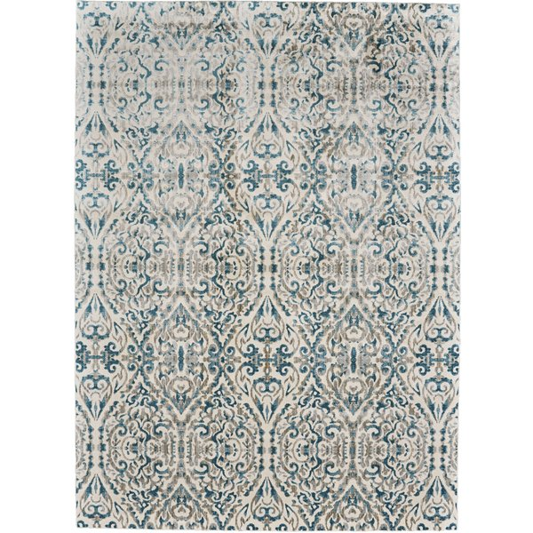 Bungalow Rose Saleya Turquoise Area Rug & Reviews | Wayfair