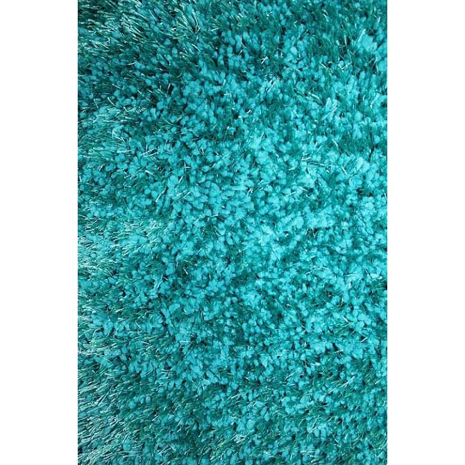 8 x 10 Large Turquoise Area Rug - Viscose | RC Willey Furniture Store