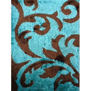 Turquoise And Brown Rug | Wayfair