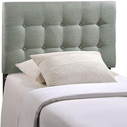 Amazon.com - Modway MOD-5176-GRY Emily Upholstered Tufted Button