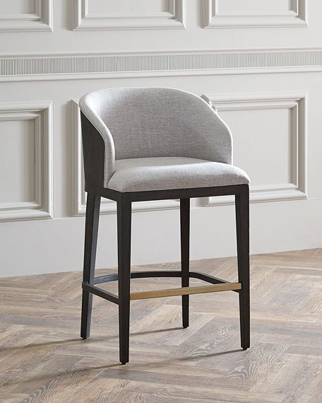 Hooker Furniture Laurie Upholstered Barstool | Neiman Marcus