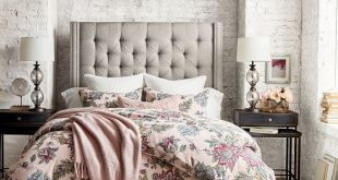 Upholstered Beds, Upholstered Bed Frames & Fabric Beds | Pottery Barn