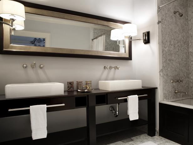 Double Vanities for Bathrooms | HGTV