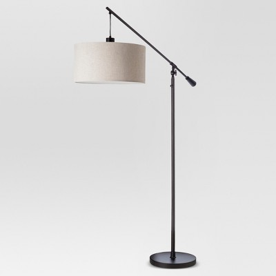 Cantilever Drop Pendant Floor Lamp Antique Brown - Threshold™ : Target