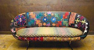 Colored Upholstered Vintage Furniture by Bokja | Freshome.com