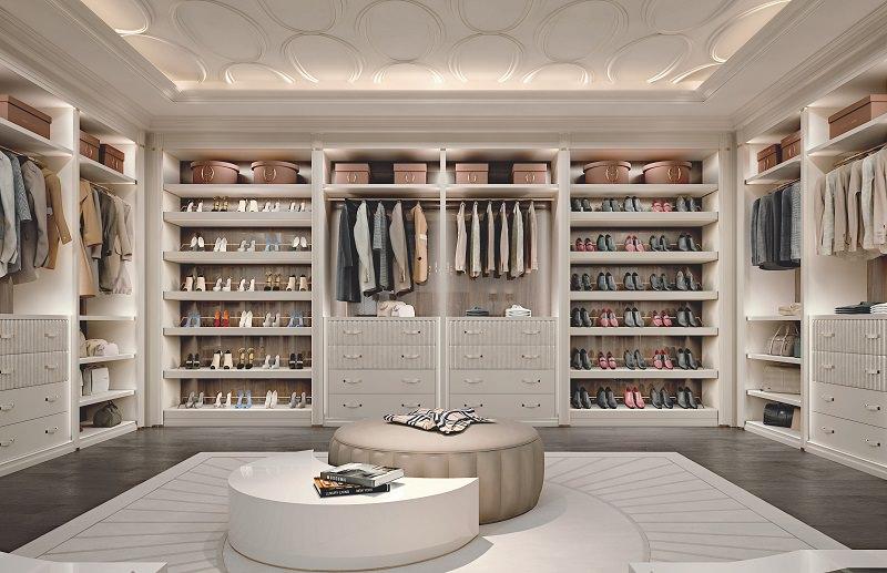 Walk-In Closet Design u2013 Ellipse by Francesco Pasi | Archi-living.com