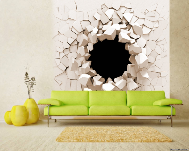 Wall Art Design Ideas Living Room Wall Mural D #6410