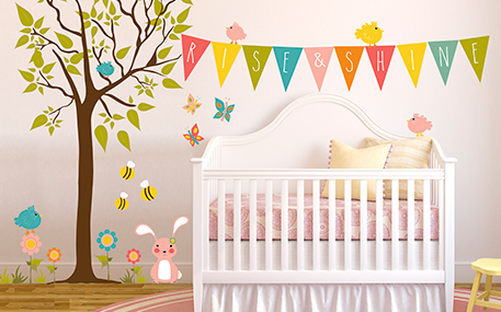 Nursery Wall Decals & Kids Wall Decals | Oopsy Daisy-Fine Art for Kids