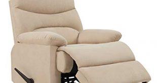 Amazon.com: ProLounger Wall Hugger Recliner Chair in Khaki
