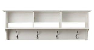 Entryway Shelf With Hooks | Wayfair