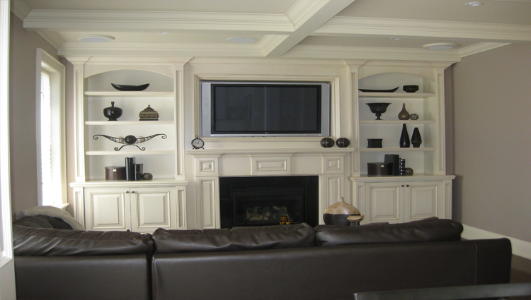 Wall Units : Robust Wall Entertainment Units Furniture. Modern