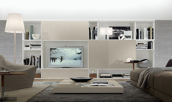 33 Modern Wall Units Decoration from Jesse