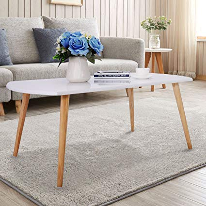 Amazon.com: Beautiful Simply Designed White Coffee Table With Pine