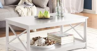 High Gloss White Coffee Table | Wayfair