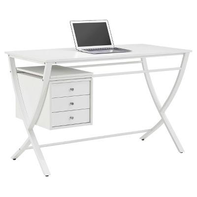 Trimble Computer Desk - White - Whalen : Target