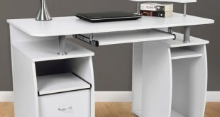 Amazing Computer Desk In White White Computer Desk Suits Your Home