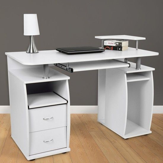 White Computer Desk Suits Your Home   Office
