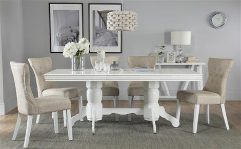 White Dining Room Table - Salongallery Dining Room