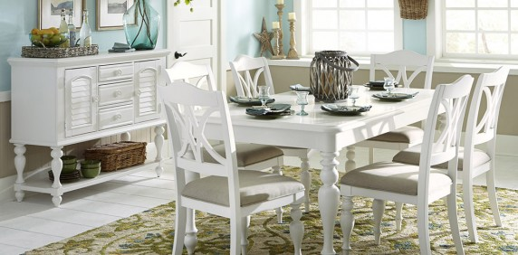 White Rectangle Dining Table Stylish Inspiration With Regard To