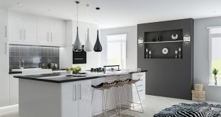 Lincoln High Gloss White Kitchen Doors | Made to Measure from £2.99