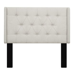 Upholstered White Headboards You'll Love | Wayfair