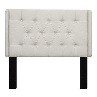 Upholstered White Headboards You'll Love   Wayfair