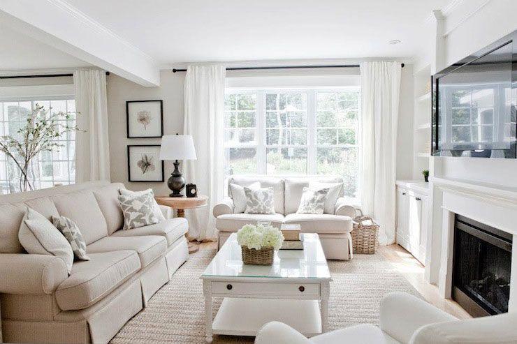 36 Light Cream and Beige Living Room Design Ideas | Living Room