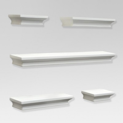 Traditional Shelf Set 5pc - White - Threshold™ : Target