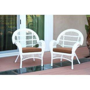 Small White Wicker Chair | Wayfair