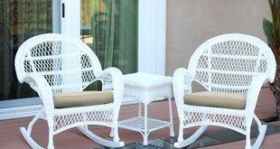 Rattan & Wicker White Patio Conversation Sets You'll Love | Wayfair