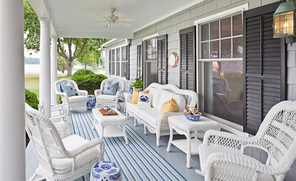 Get the Classic Charm of 15 White Wicker Furniture | Home Design Lover