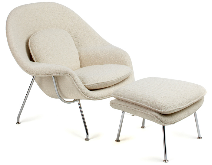 Womb Lounge Chair & Ottoman - hivemodern.com
