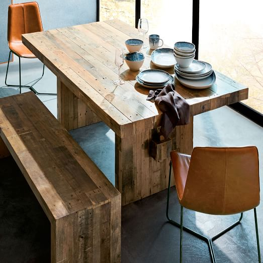 A Wood Dining Table for Great Dining   Hours